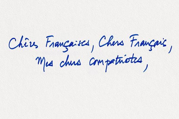 マクロン大統領のフランス国民への手紙