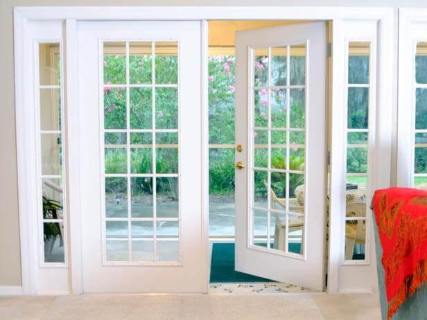 Double Sliding Patio French Doors