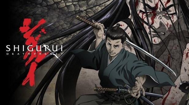 Shigurui anime