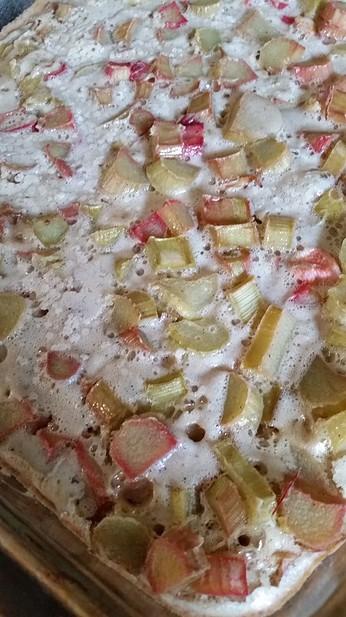 Rhubarb Pie Bars