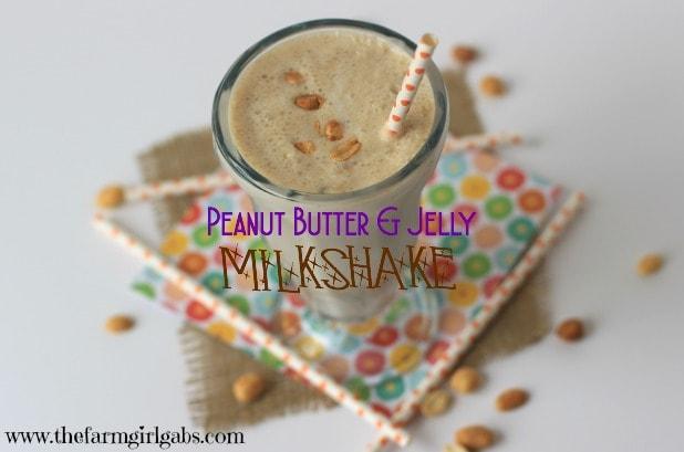 Peanut Butter & Jelly Milkshake Plus 11 Disney-Inspired Recipes