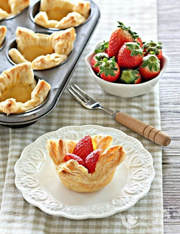 easy custard puff