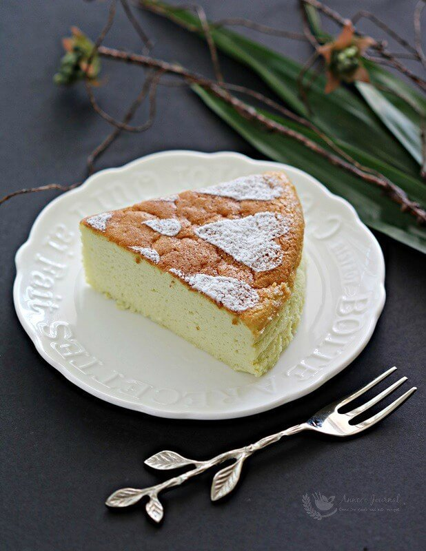 pandan cheesecake