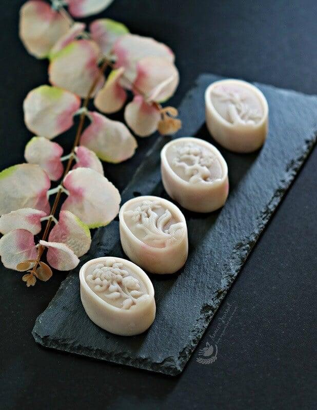 lychee snowskin mooncakes