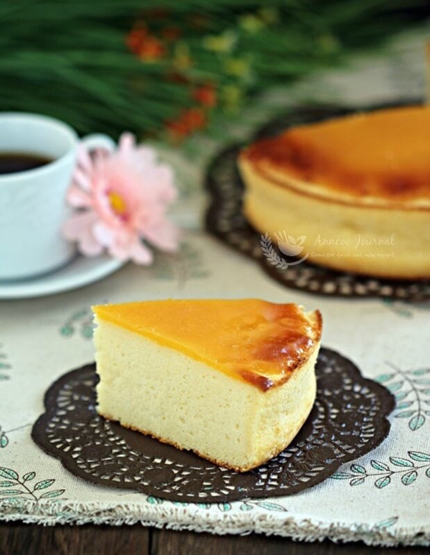 honey baked cheesecake