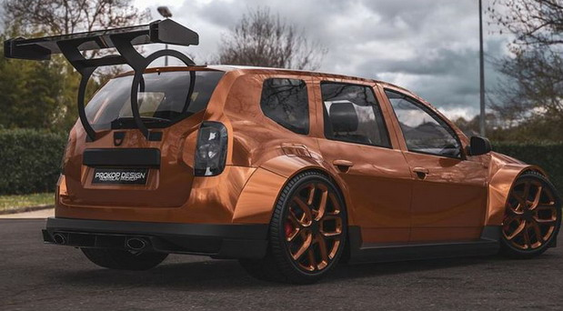 Dacia Duster Tuning by Rostislav Prokop