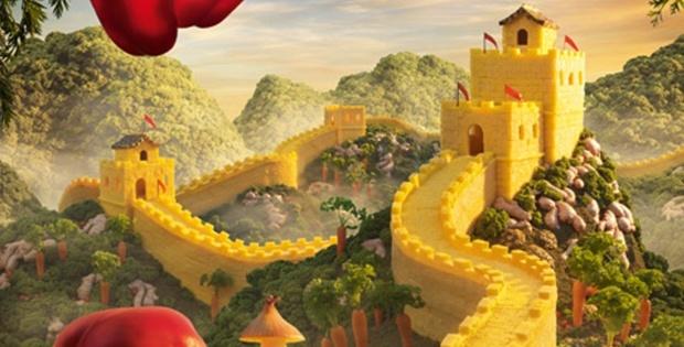 Pineapple Great Wall