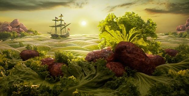 Lettuce Seascape