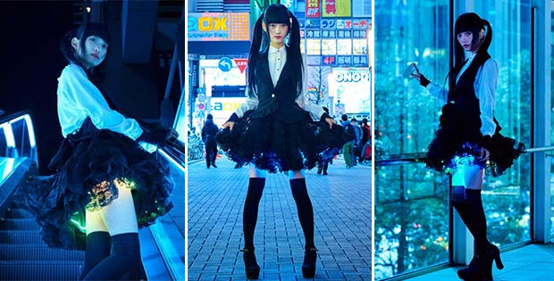 Shining Skirt - new trend in Japanese fashion