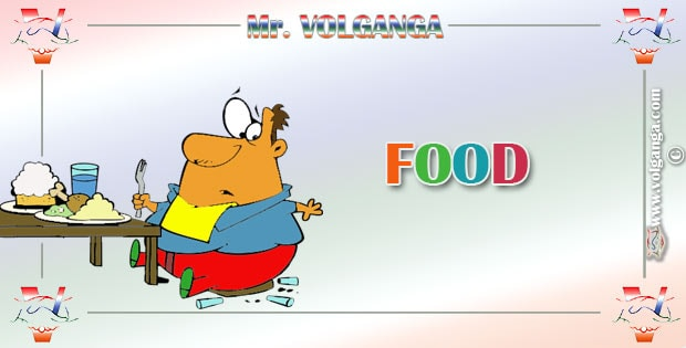 Mr. Volganga on Food