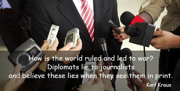 Funny quote about journalist