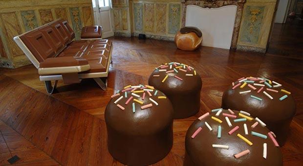 Chocolate furniture set