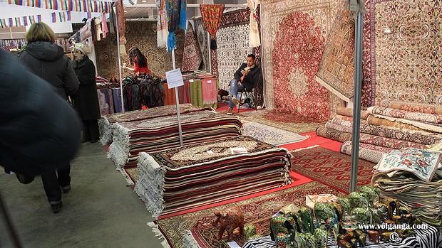 Indian Fair in Yaroslavl (2015). Carpets