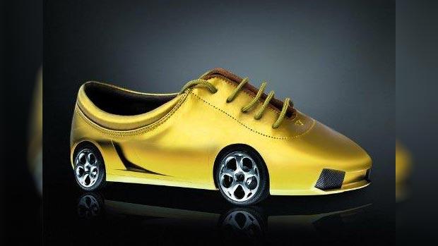 Vehicle weird shoes