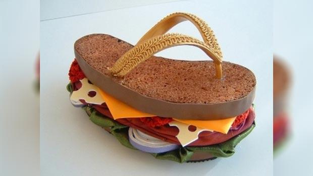 Delicious weird shoes