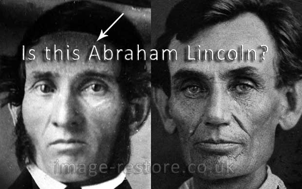 Abraham Lincoln new discovery of a Daguerreotype