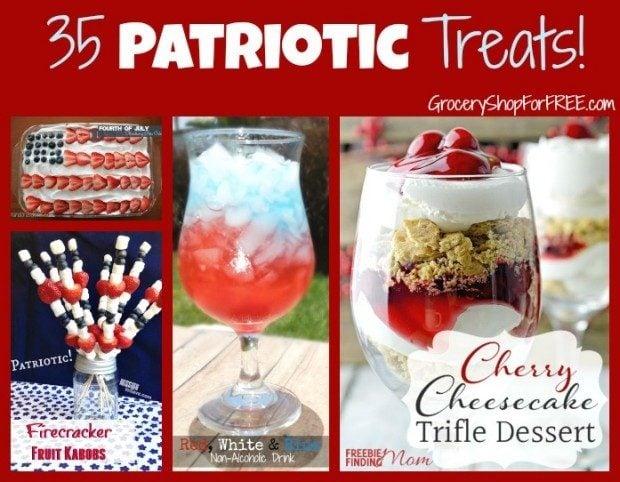 35 Patriotic Treats