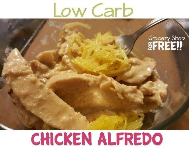 Low Carb Chicken Alfredo Recipe!