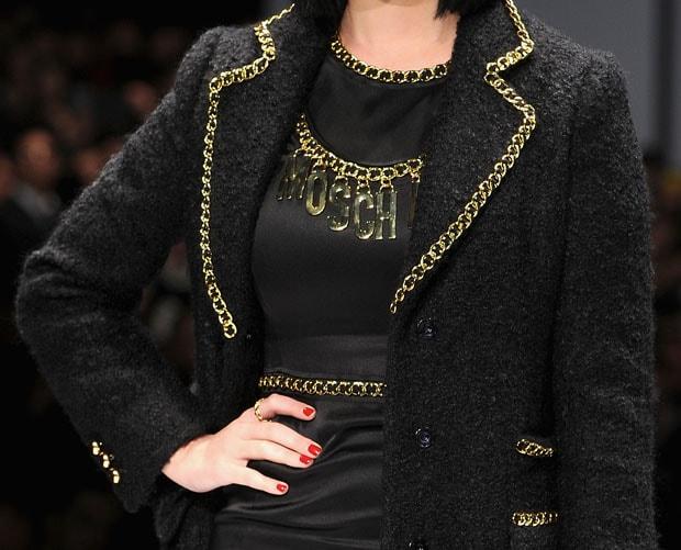 Moschino - Front Row - Milan Fashion Week Womenswear Autumn/Winter 2014