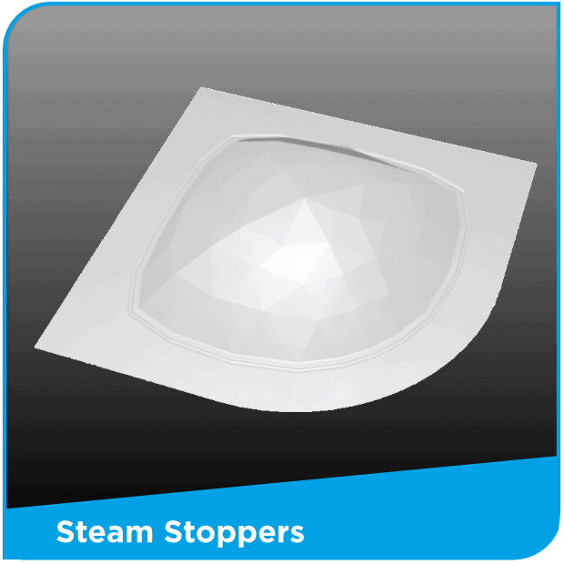 Steam Stoppers Stop Bathroom Steam