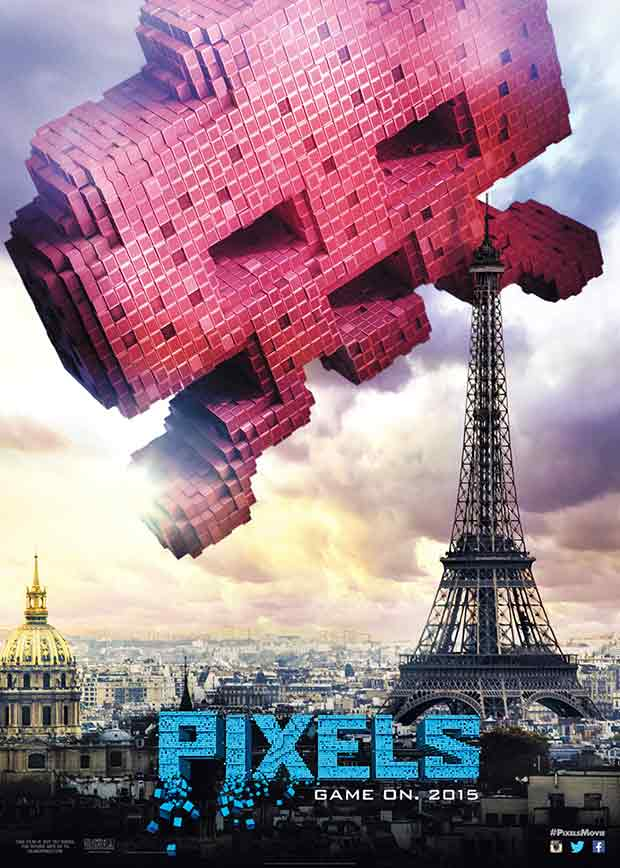 Pixels (2015): Official poster
