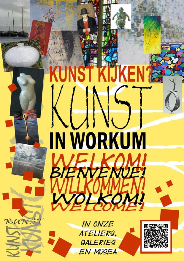 flyer Kunst in Workum