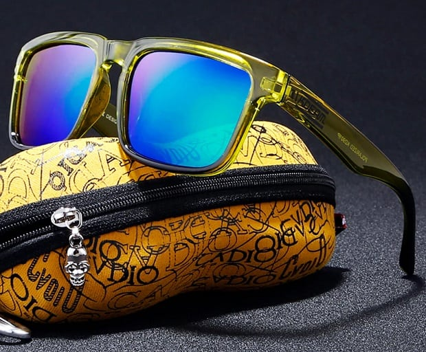 AliExpress fake sunglasses Cheap replica shades aviator glasses Sun UV Rayban Multi color Shiny Gold with case Oculos De Sol 1