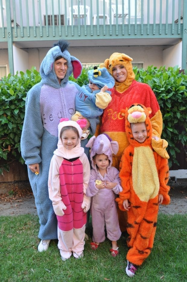 Winnie the Pooh Family Costume
