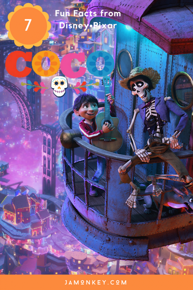 7 Fun Facts about Disney Pixar's Coco