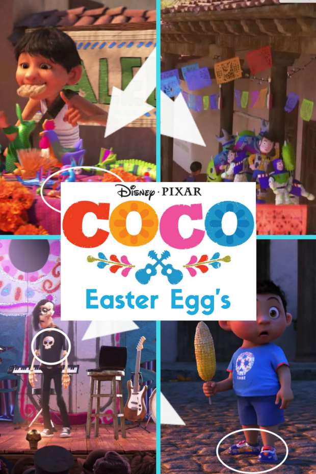 All of Disney Pixar Coco's Easter Eggs