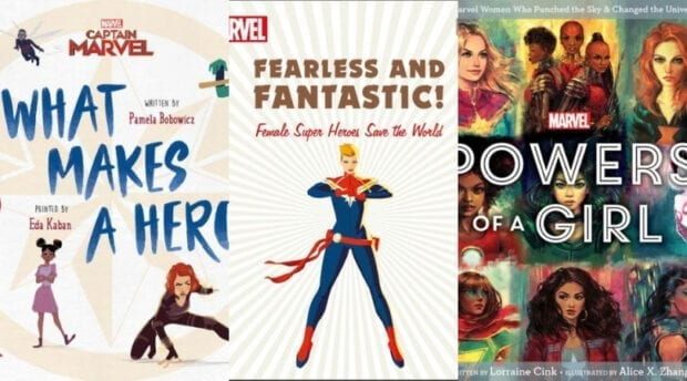Women of Marvel Books