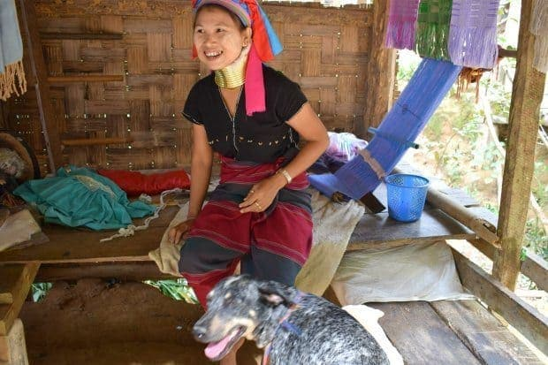 Hill Tribe Woman Mae Hong Song