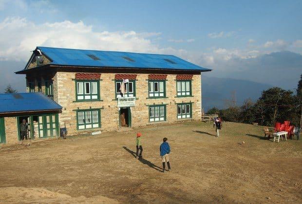 A lodge between Lukla and Phaplu
