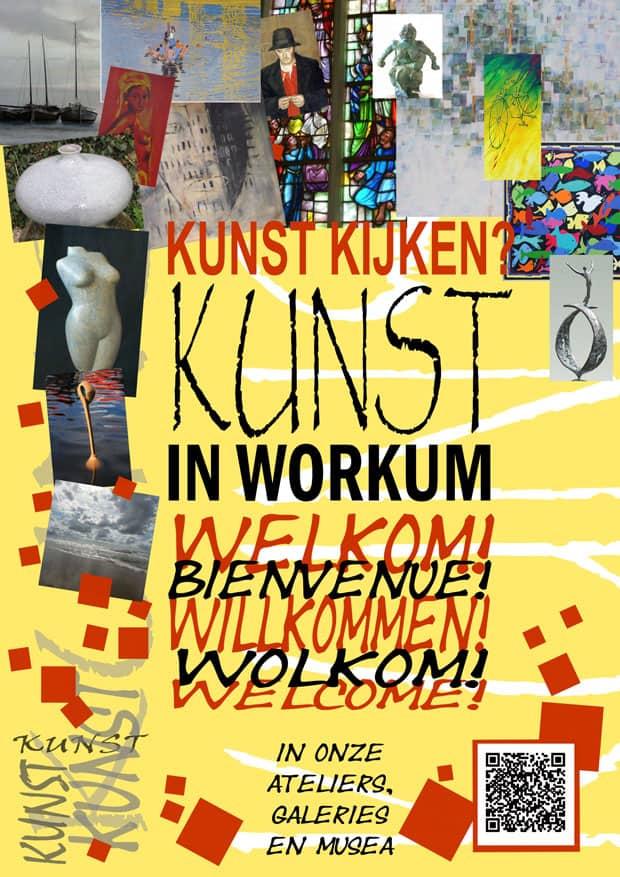 flyer Kunst in Workum