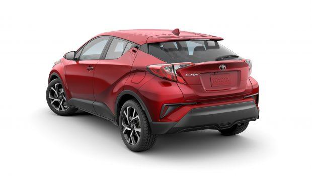 Toyota C-HR 2020 rear profile