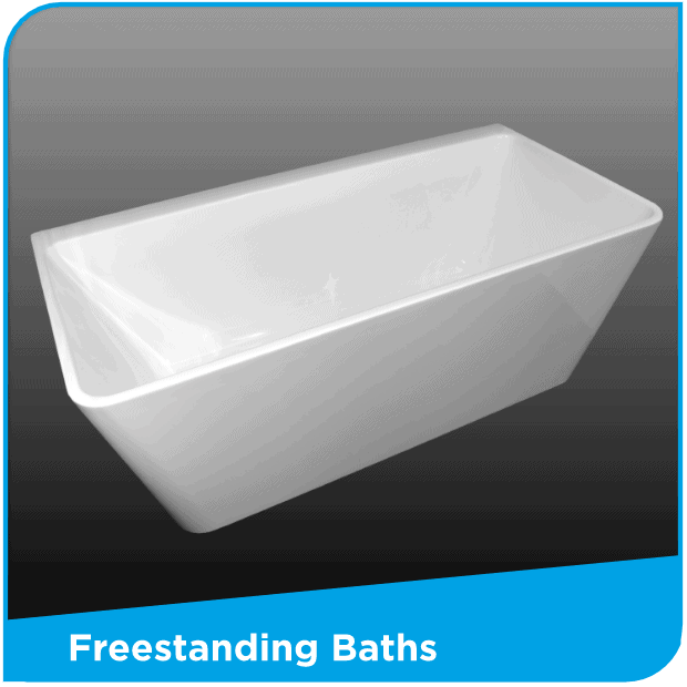 Freestanding baths by Henry Brooks