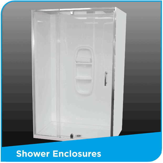 Shower Enclosures 750 x 900 to 900 x 1800