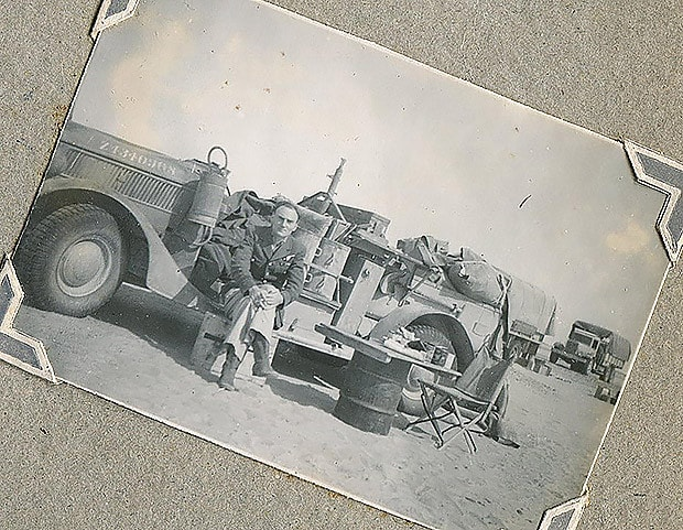 Long Range Desert Group WW2 Leonard Elsey