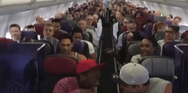 THE LION KING Australia Cast Sings Circle of Life on Flight Home from Brisbane YouTube
