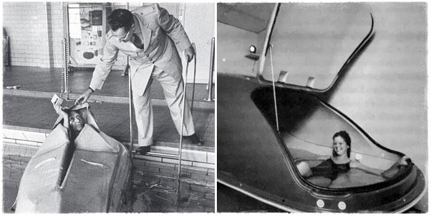 Первые камеры сенсорной депривации Джон Лилли