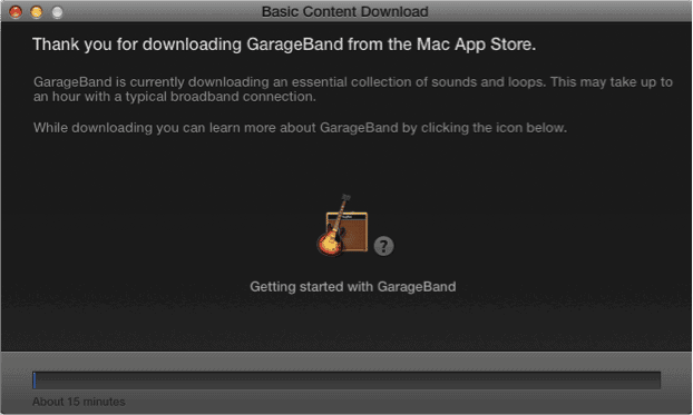 garage band deployment