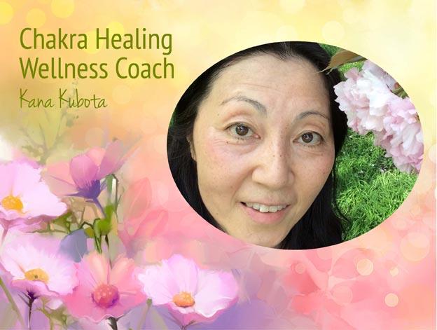 Kana Kubota Chakra Healing Wellness Coach
