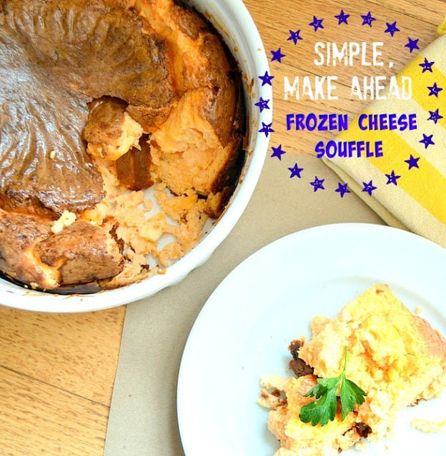 Frozen Cheese Souffle