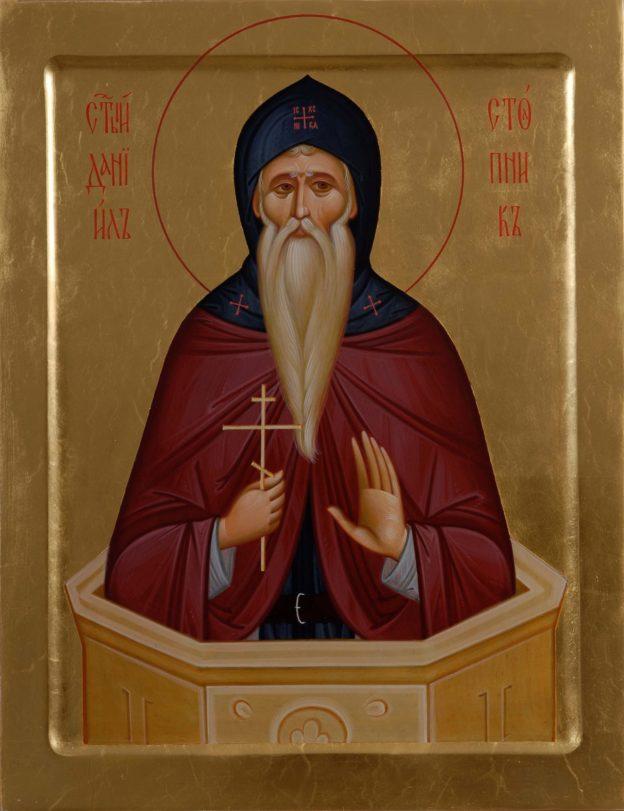 икона Даниилу Столпнику