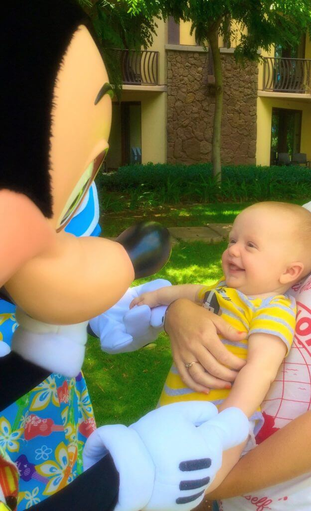 Aulani with a toddler