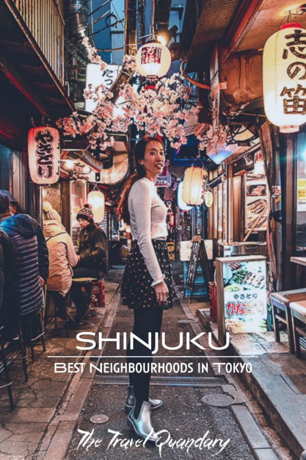 Pin Photo: Wandering the alleys of Omoide Yokocho - Shinjuku what to do