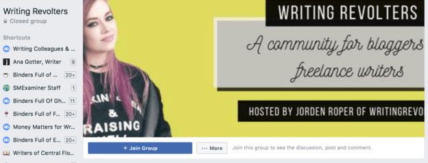 Facebook group cover photo cropped