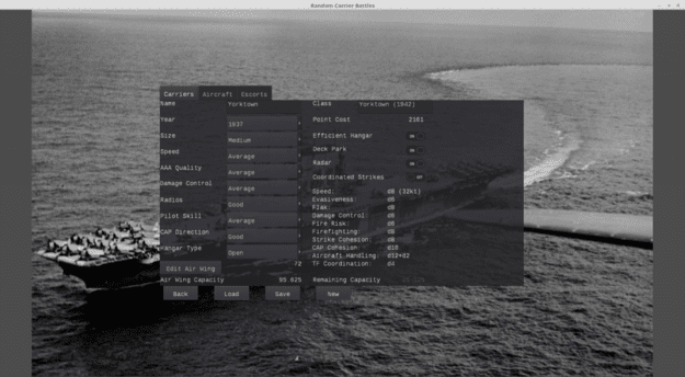 random carrier battles design