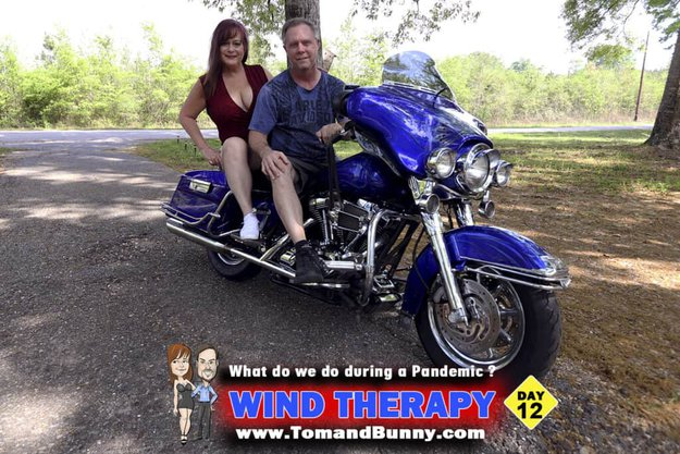 Day 12 - What do we do during a Pandemic - Wind Therapy