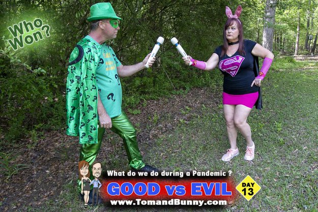 Day 13 - What do we do during a Pandemic - GOOD vs EVIL
